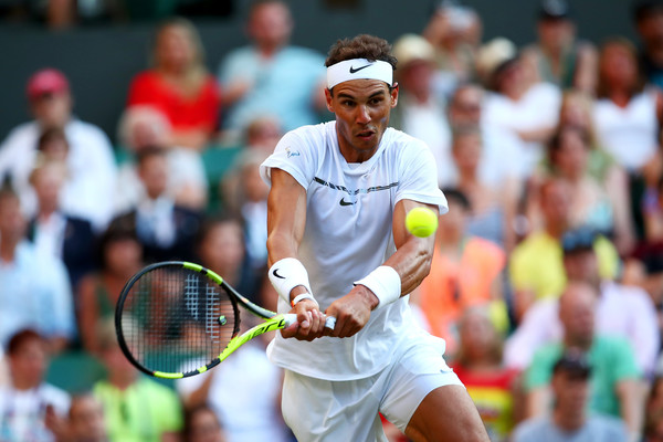 The two-time champion was in good form against Young (Photo by Clive Brunskill / Getty)