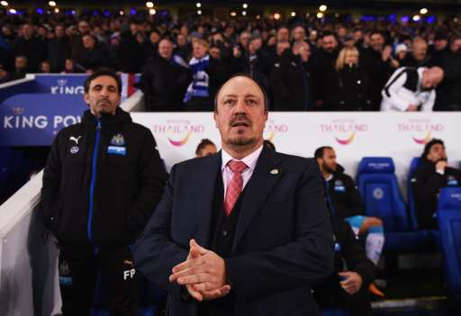 Rafa Benitez takes his first game in charge of Newcastle United (Photo: Getty Images)