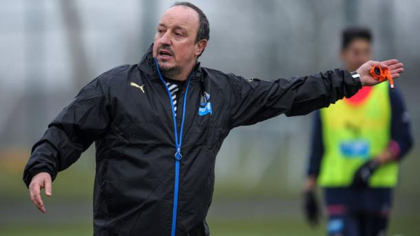 It's hardly been smooth-sailing for Benitez on his Premier League return so far. (Photo: Sky Sports)