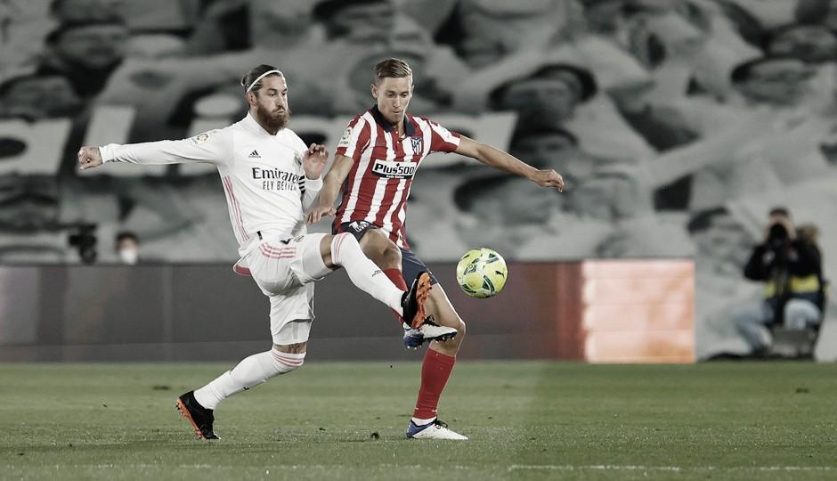 Sergio Ramos no podrá jugar debido a su lesión en el menisco. / Fuente: Atlético de Madrid
