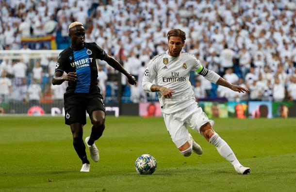 Sergio Ramos, principal ausencia en la convocatoria del Real Madrid /Fuente: realmadrid.com