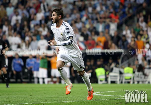 Ramos con la elástica blanca / Dani Mullor (VAVEL.com)