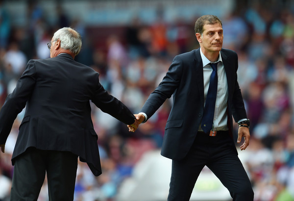 Ranieri and Bilic have both enjoyed sparkling first campaigns at Leicester and West Ham respectively | Photo: Getty