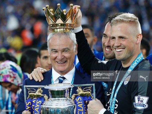 Claudio Ranieri has added further to his heaving trophy cabinate | Photo: Getty/ Adrian Dennis