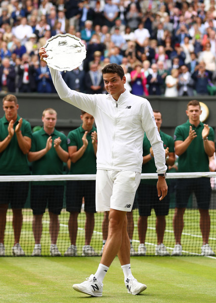 Raonic had a good run at Wimbledon last year but he will be hungry for more this year (Photo by Julian Finney / Getty)