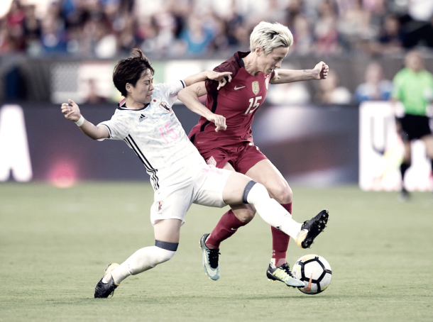 Megan Rapinoe will hope to carry-on her NWSL form to the National Team (Photo via: ussoccer.com)
