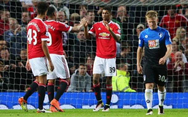 Rashford was in on the act once more for United (Photo: Getty Images)