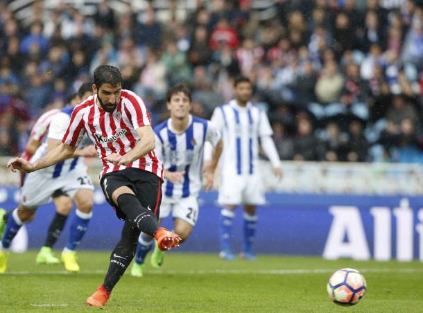 Il derby Basco va all'Athletic Bilbao: sbancata l'Anoeta per 2-0 grazie a Raul Garcia e Williams