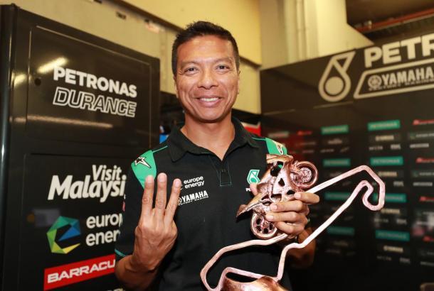 Razlan Razali, máximo responsable del Petronas Yamaha.   Fuente: MotoGP
