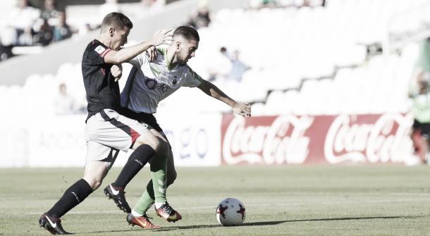 Héber Pena fue uno de los jugadores más destacados del partido (Foto: Real Racing Club)
