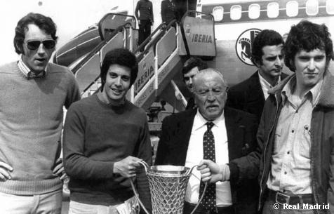 Copa de Europa: Cabrera, Bernabéu, Luyk, Cristóbal y Paniagua
