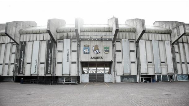 El estadio Anoeta, casa de la Real Sociedad | Foto: Real Sociedad
