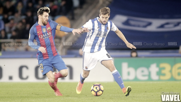 El Barcelona se impone a la Real Sociedad | Foto: Óscar Alonso - VAVEL