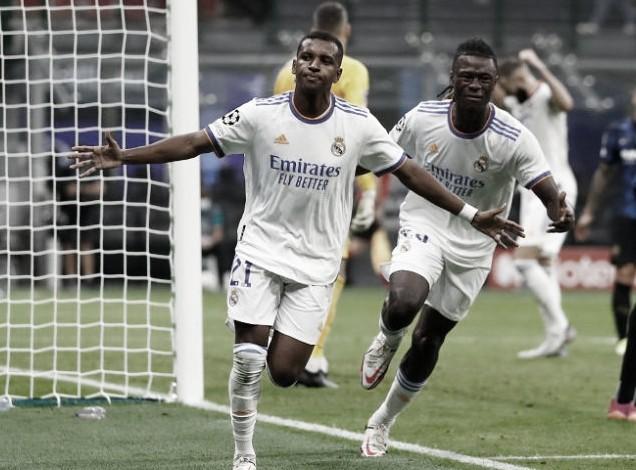 Rodrygo marcó el único tanto del partido   Foto: Real Madrid