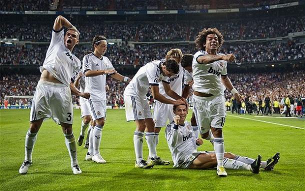 La gioia del Real dopo la vittoria sul City nella Champions 2012713. Fonte: Getty Images.