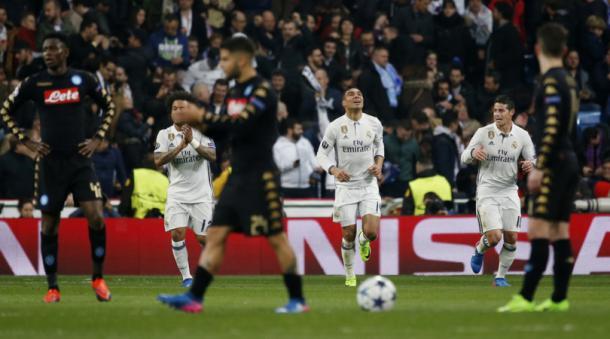 Arrivano i Blancos - Foto Corriere dello Sport