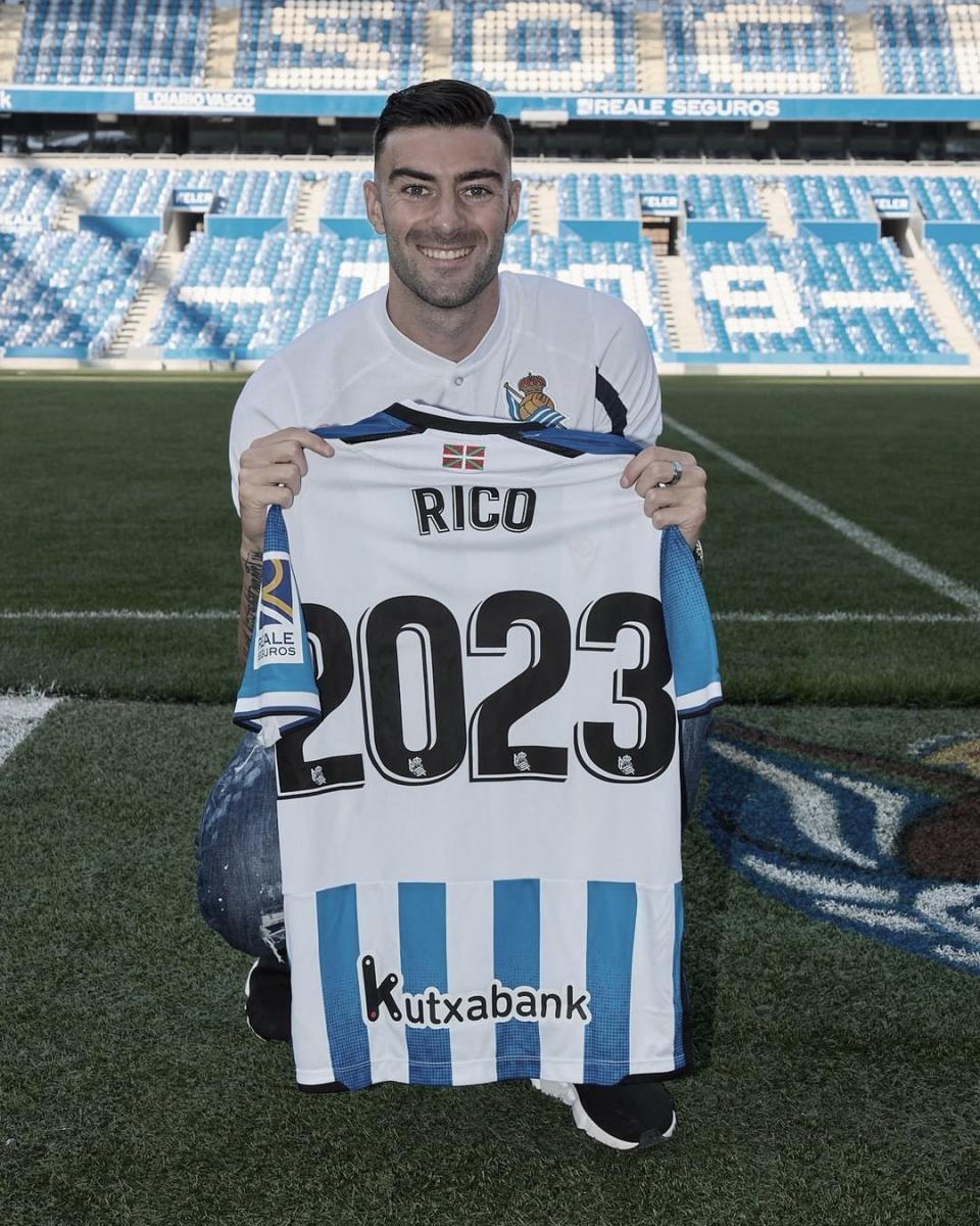 Diego Rico // Foto: <strong><a  data-cke-saved-href='https://vavel.com/es/futbol/2021/08/13/real-sociedad/1082018-xabi-es-importante-comenzar-bien.html' href='https://vavel.com/es/futbol/2021/08/13/real-sociedad/1082018-xabi-es-importante-comenzar-bien.html'>Real Sociedad</a></strong>