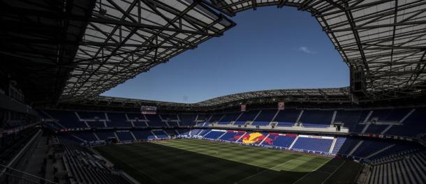 Vista desde la tribuna principal del Red Bull Arena // Imagen: New York Red Bulls