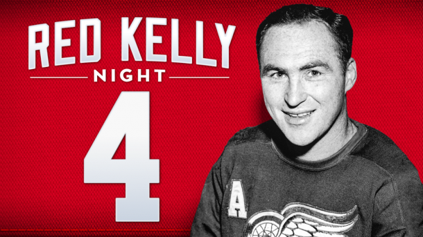 Red Kelly Night en Detroit | Foto: NHL.com