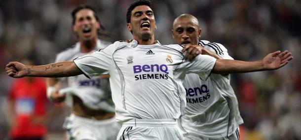 Reyes celebrando uno de sus dos tantos/ FOTOGRAFÍA: Real Madrid.