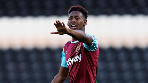 Above: Youngster Reece Oxford in action for West Ham United | Photo: Sky Sports