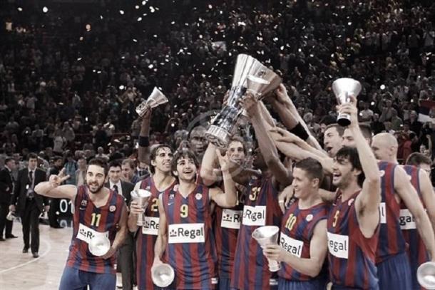 Ricky celebra su triunfo en la final de la Euroliga | Foto: kianezona.com