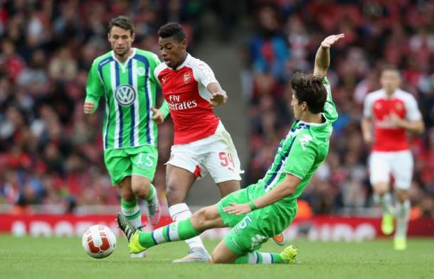 Arsenal starlet Jeff Reine-Adelaide has made first team appearances since his summer arrival | Photo: Getty images
