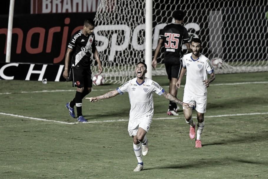 Renato abriu o placar no jogo do primeiro turno (Foto: Thiago Ribeiro/Agif/CBF)