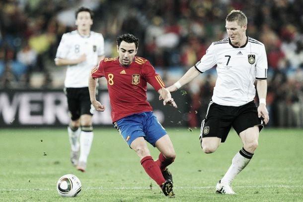 Xavi en la semifinal del Mundial de 2010 / Fuente: VAVEL.com