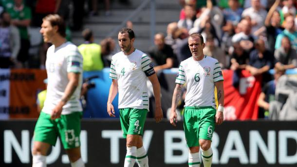 The Irish failed to record a shot on target against Belgium (Photo: Getty Images)