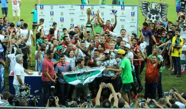Gavião do Norte vai embalado após bicampeonato do Amazonense (Foto: Raiana Barreto/Manaus FC)