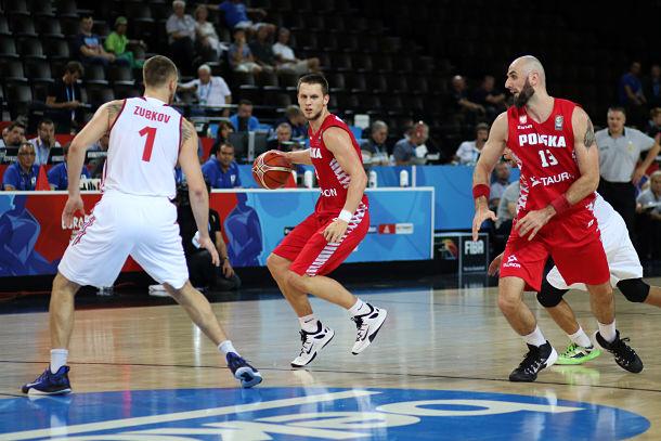Marcin Gortat (derecha), gran valedor de Ponitka | Fotografía: Eurobasket