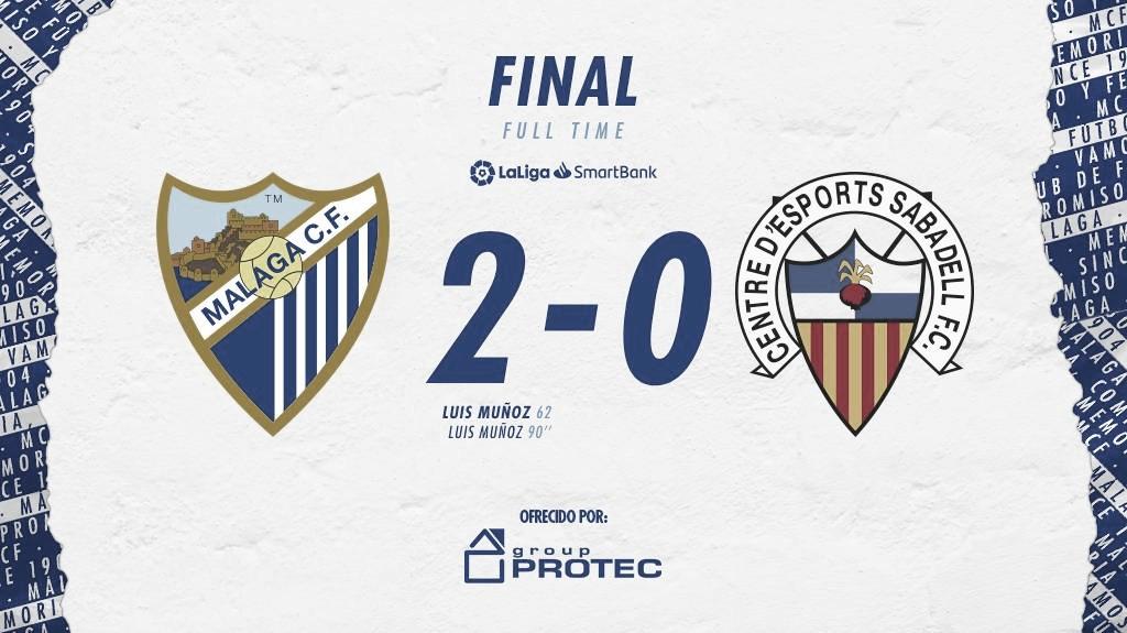 Resultado final. / Foto: Málaga CF
