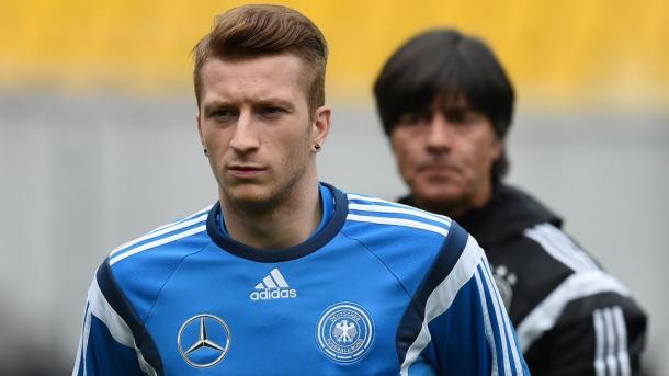 Reus fez a mais recente das suas 29 aparições pela Alemanha em 29 de março de 2016 em uma vitória por 4 a 1 sobre a Itália.