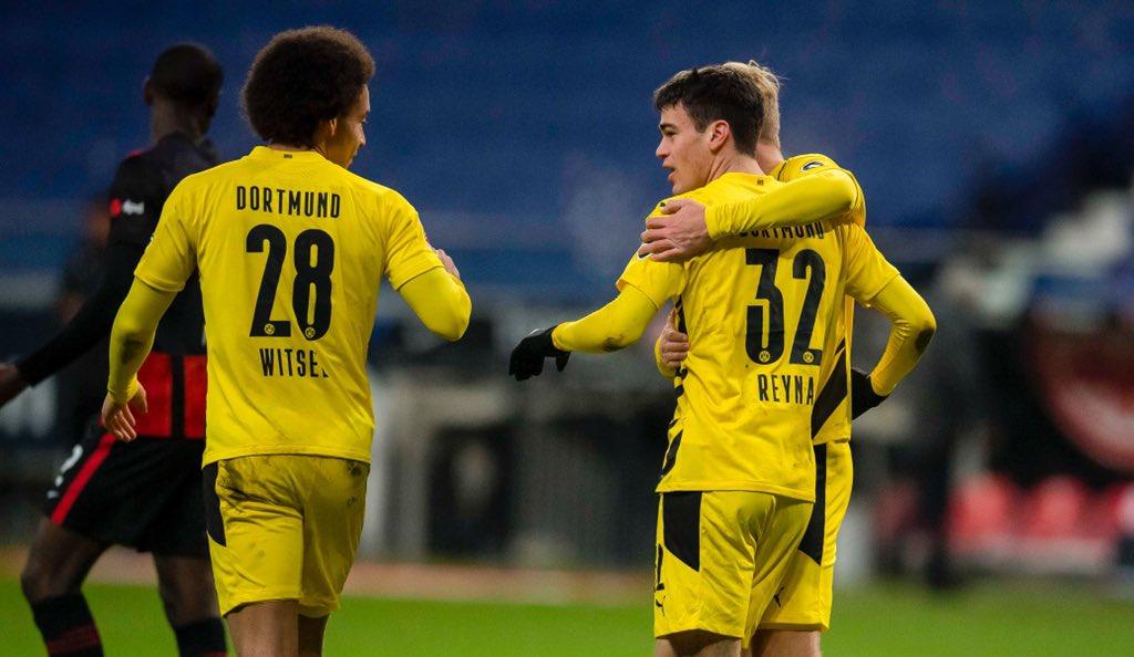 Reyna evitó la derrota del Borussia Dortmund / FOTO: @BlackYellow