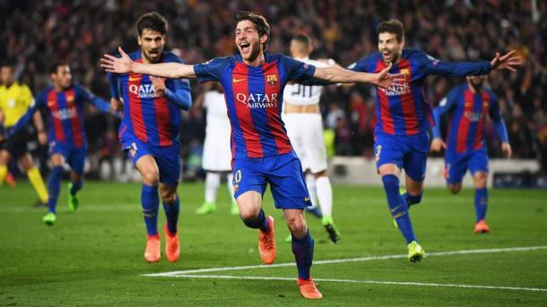 Momento do gol histórico | Foto: Getty Images