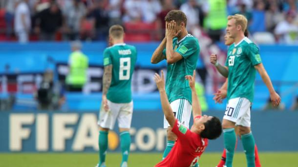 Germany's World Cup journey came to a crashing halt today | Source: Getty Images via FIFA.com