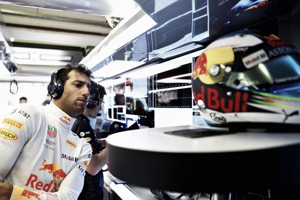 Daniel Ricciardo antes de comenzar la clasificación del GP de Hungría | Getty Images