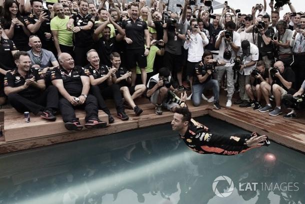 Foto (Ricciardo): LAT Images F1.Foto (James Hunt): Getty Images