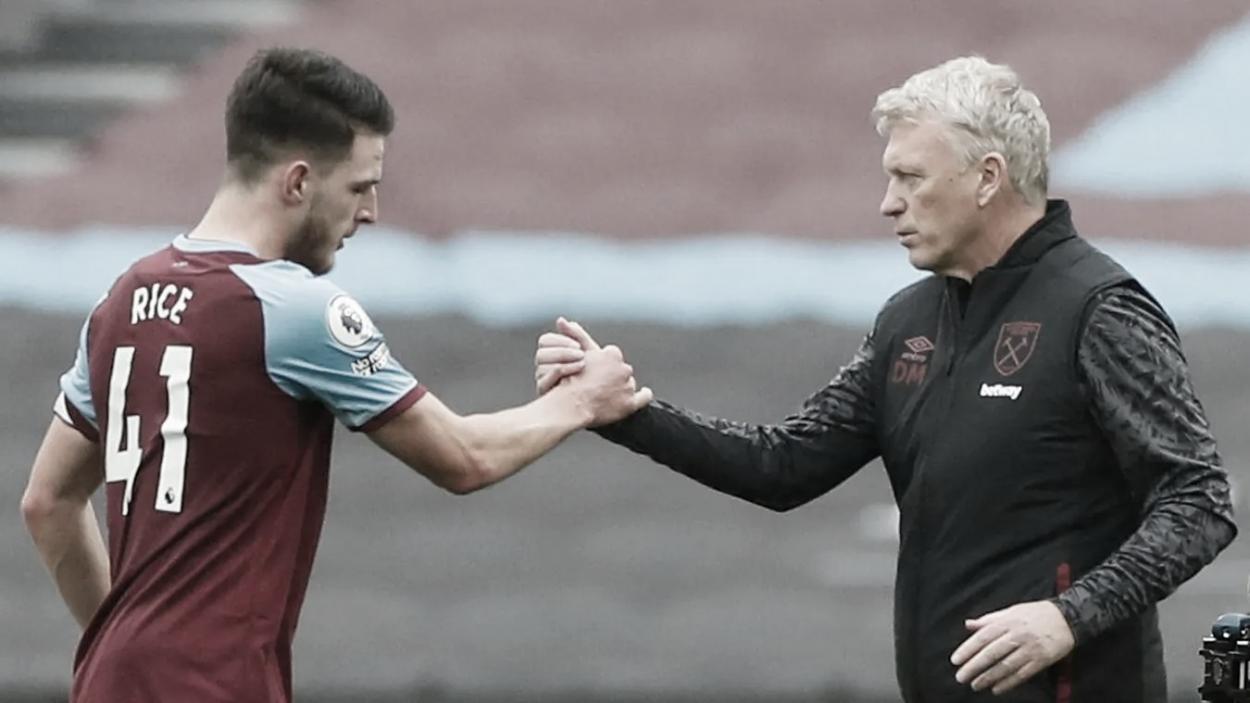 Declan Rice y David Moyes los líderes de este West Ham./ Foto: Premier League