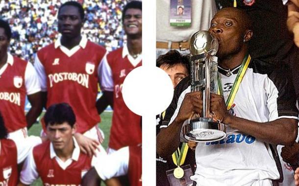 Freddy Eusebio Rincón, inició su carrera futbolística en Santa Fe, jugó en América, Real Madrid, Napoles, Corinthians, Santos y Selección Colombia, una de las más grandes figuras de la década de los 80
