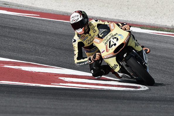 Rins suffered a difficult weekend and finished in eighth | Photo: Giuseppe Cacace/AFP/Getty Images