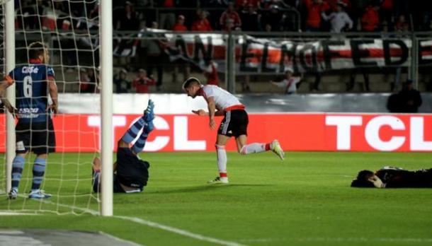 Gol de Lucas Alario| foto: Web