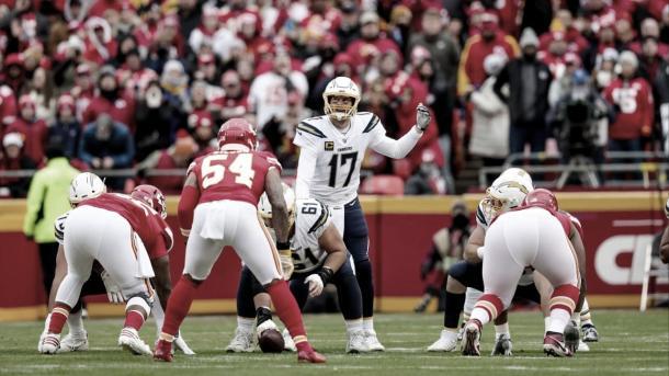 Luego de mas de una decada, Rivers deja los Chargers y jugara en los Colts en el 2020 (foto Chargers.com)
