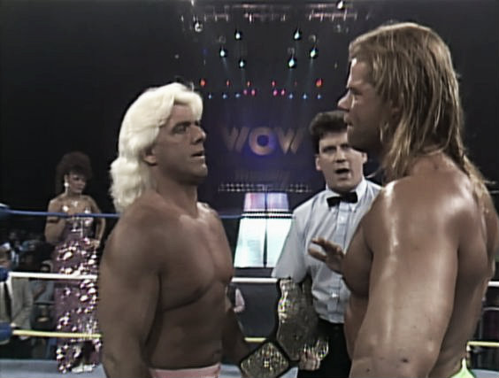 Ric Flair was never the biggest star in his heyday (image: pinterest.com)