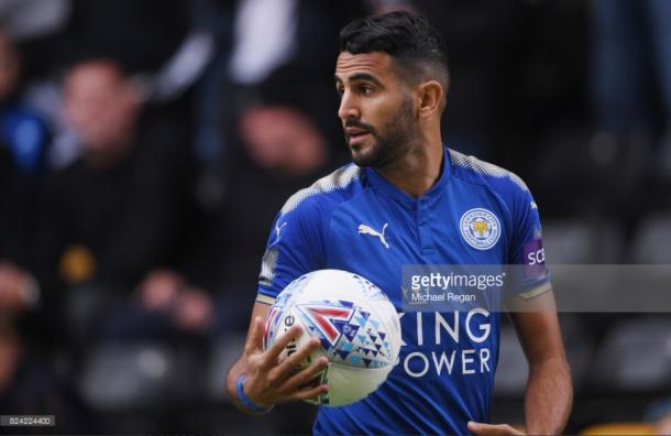 Riyad Mahrez could yet leave Leicester City | Photo:; Getty/ Michael Regan