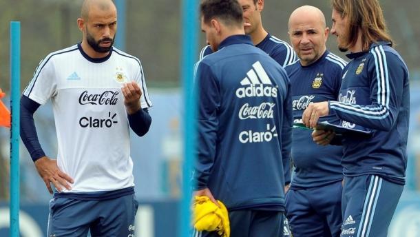 Argentina vs Venezuela: Javier Mascherano es el elegido de Jorge Sampaoli