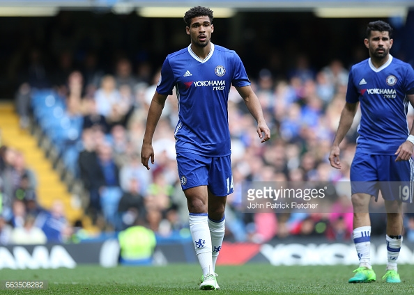 Loftus-Cheek (left) struggled to break into Antonio Conte's first team plans throughout the season. (Source: John Patrick Fletcher/Getty Images)