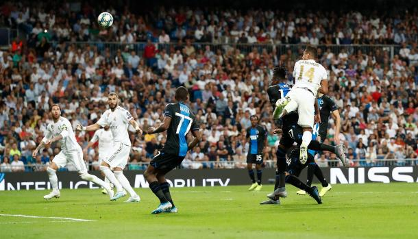 Real Madrid - Brujas / Fuente: realmadrid.com
