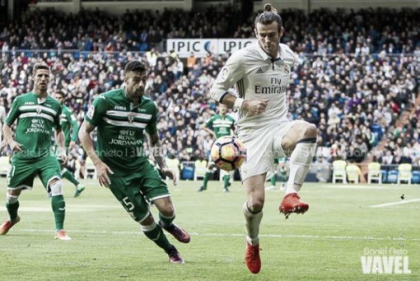 Gareth Bale contra el Leganés | Foto: VAVEL